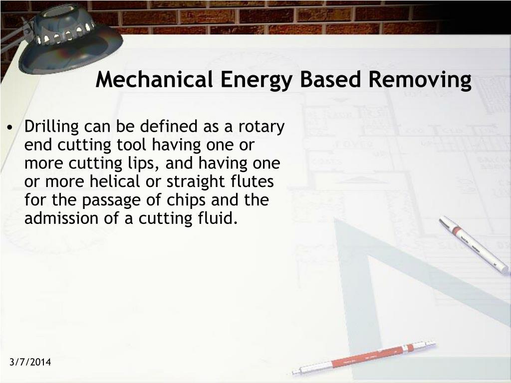 Mechanical Energy Based Removing