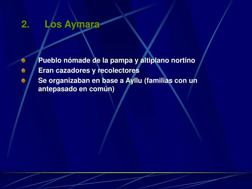 Los Aymara