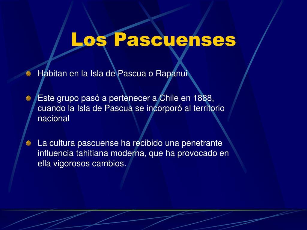 Los Pascuenses