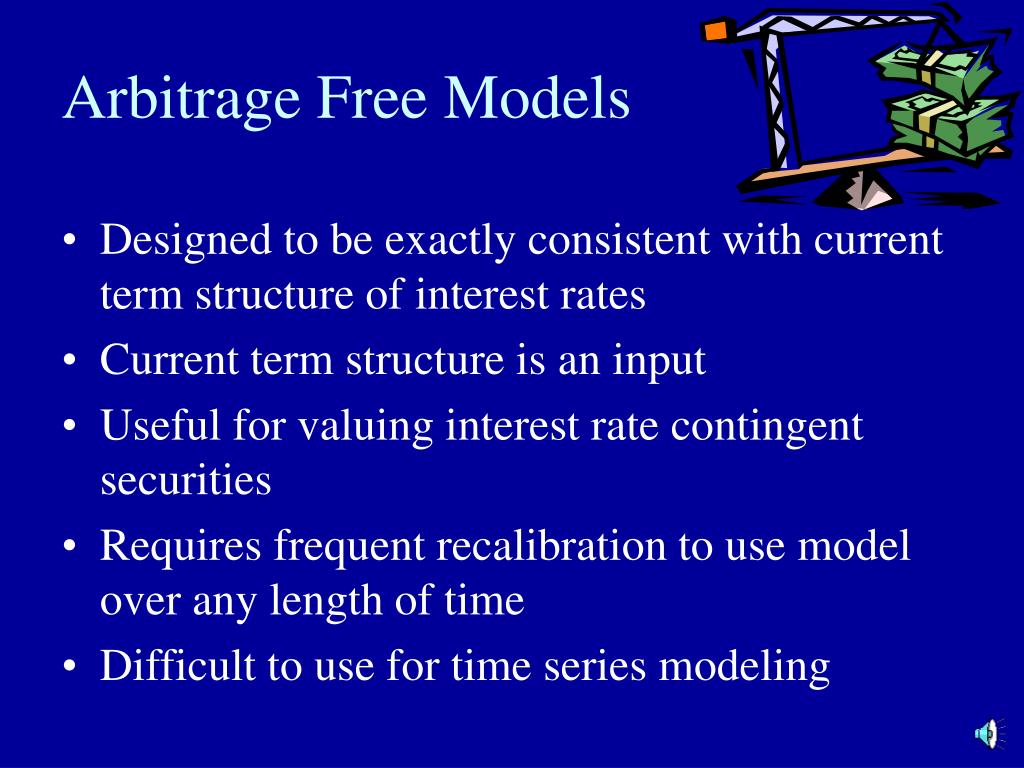 Arbitrage Free Models