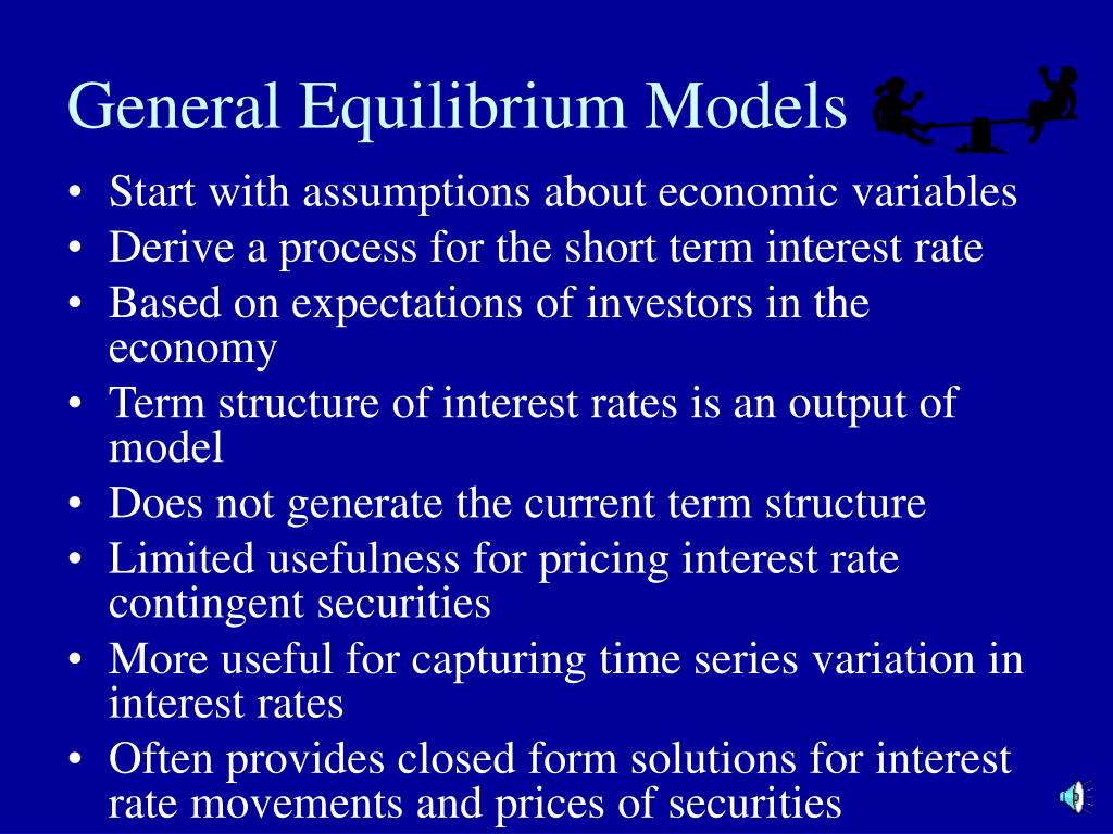 General Equilibrium Models