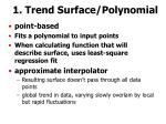 1 trend surface polynomial