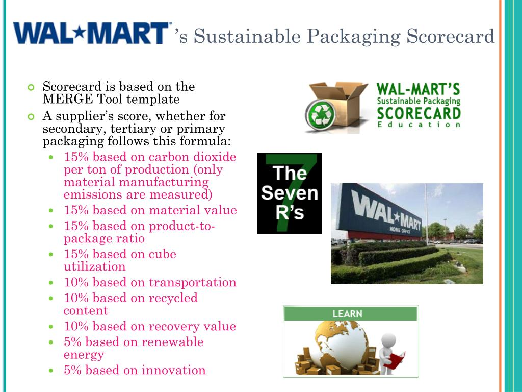 's Sustainable Packaging Scorecard
