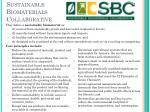 sustainable biomaterials collaborative