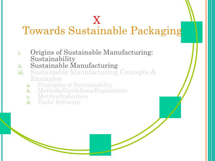 X towards sustainable packaging2