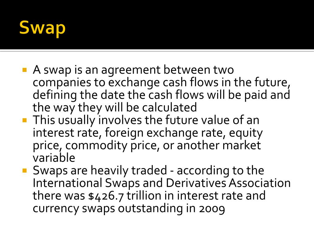 Forex swap valuation