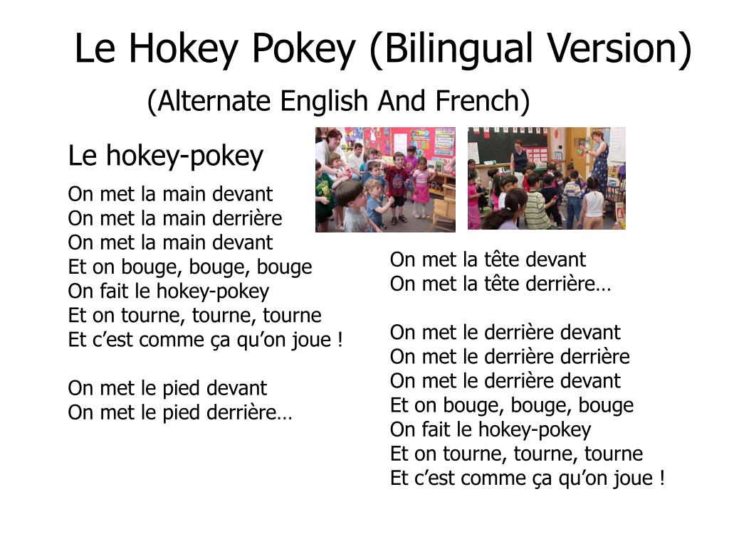 Le Hokey Pokey (Bilingual Version)