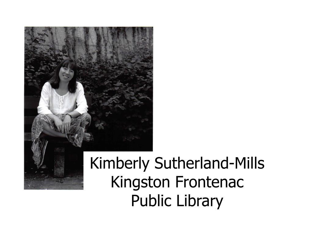Kimberly Sutherland-Mills
