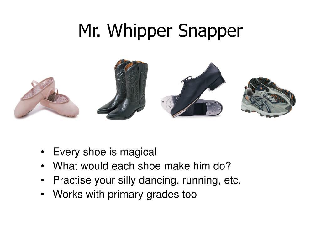 Mr. Whipper Snapper