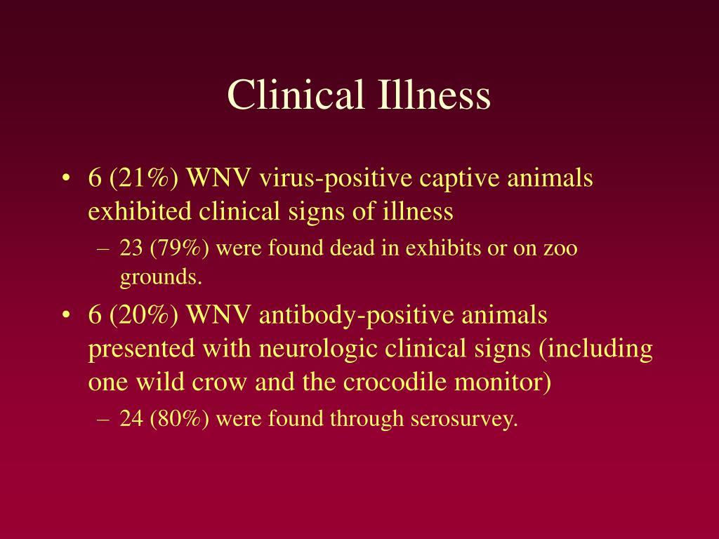 Clinical Illness