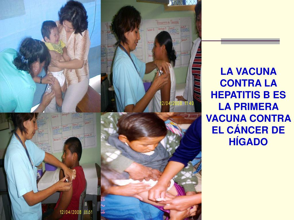 LA VACUNA CONTRA LA HEPATITIS B ES LA PRIMERA VACUNA CONTRA EL CÁNCER DE HÍGADO