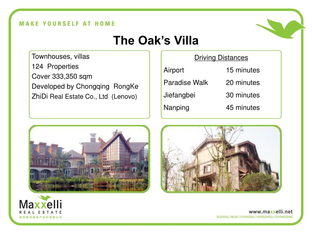 The Oak's Villa