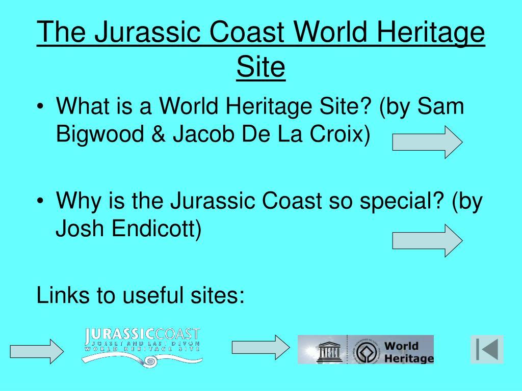 The Jurassic Coast World Heritage Site