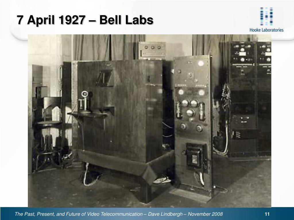 7 April 1927 – Bell Labs