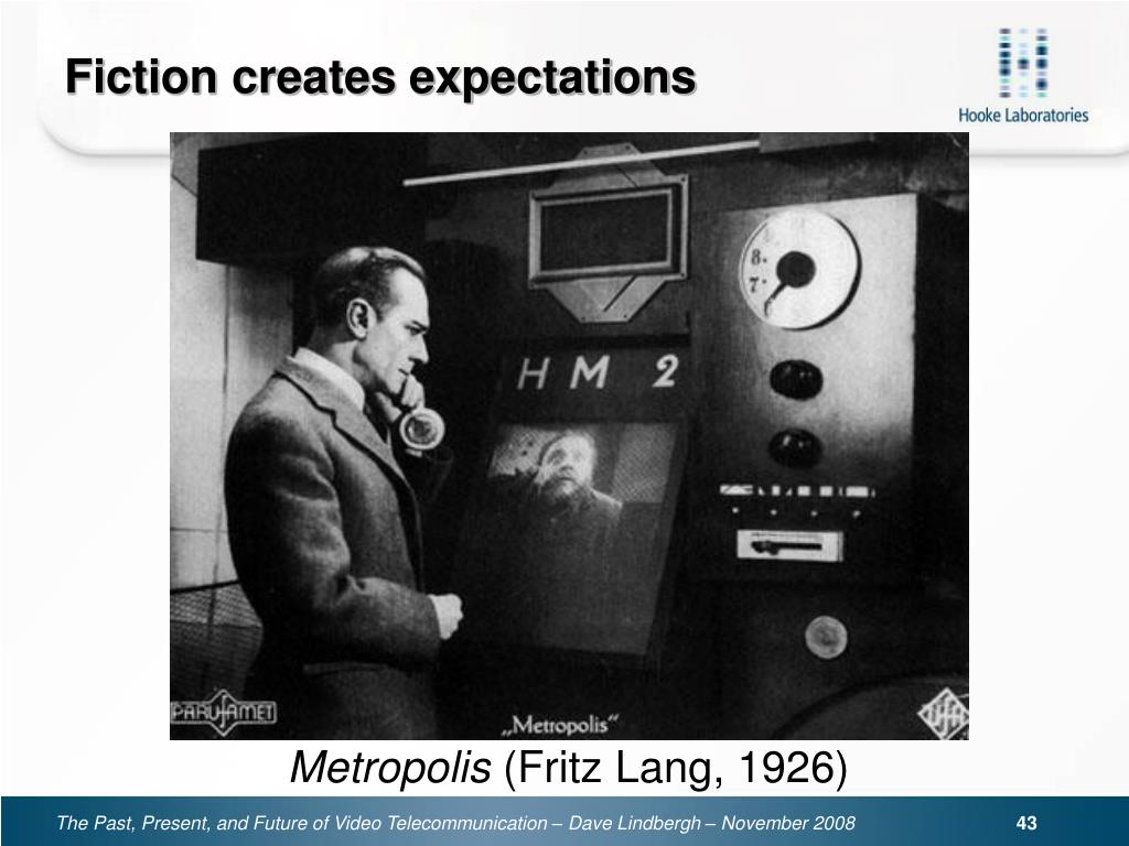 Fiction creates expectations