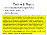outline thesis