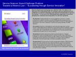 service science grand challenge problem towards a moore s law succeeding through service innovation