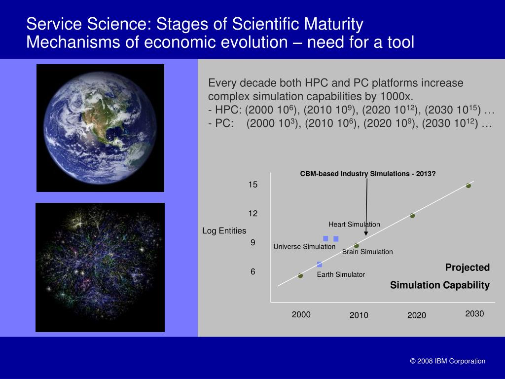 Service Science: Stages of Scientific Maturity