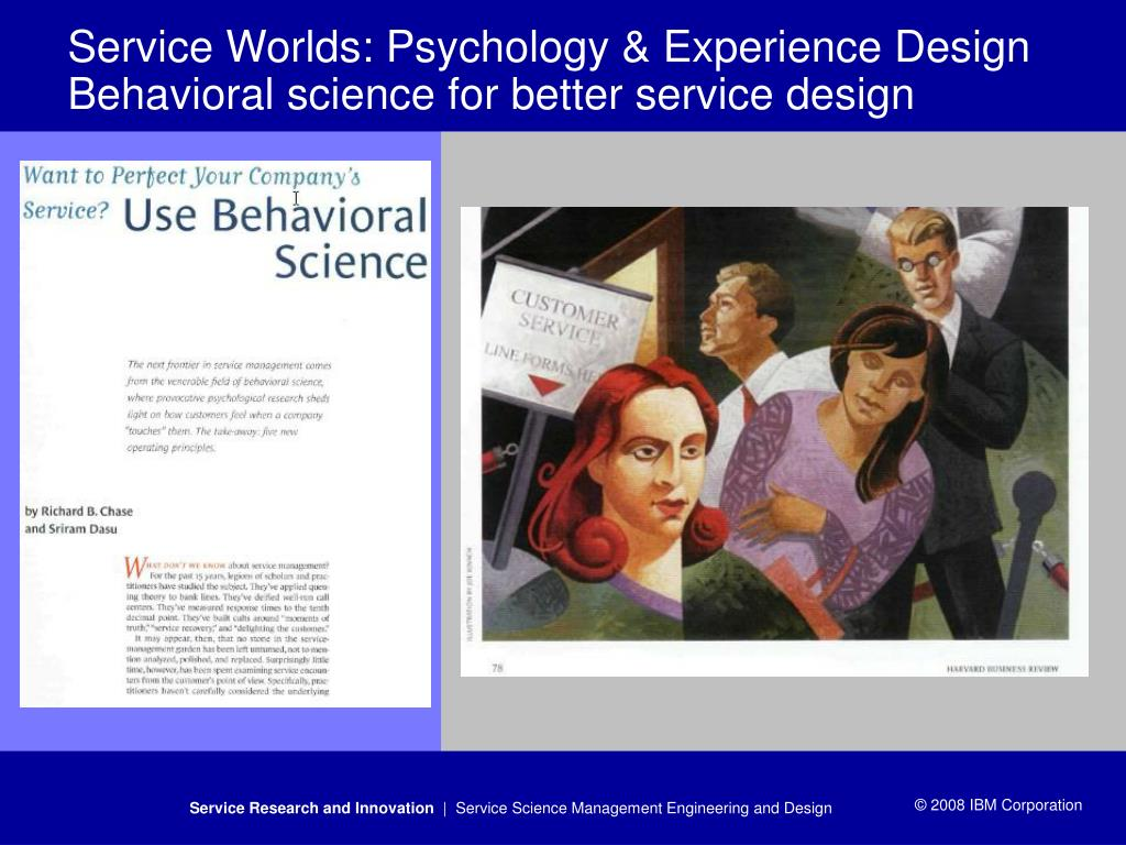 Service Worlds: Psychology & Experience Design