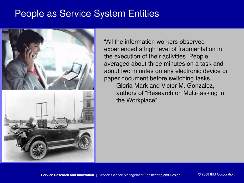 People as Service System Entities
