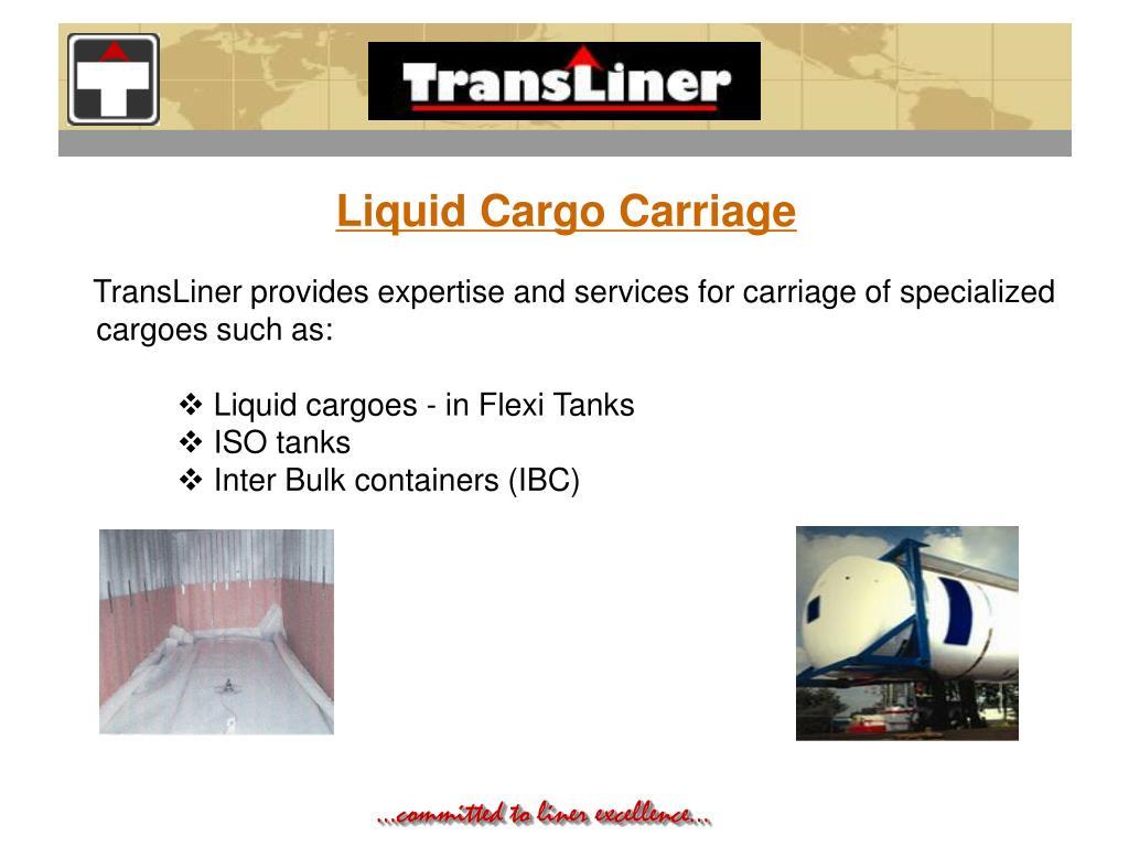 Liquid Cargo Carriage