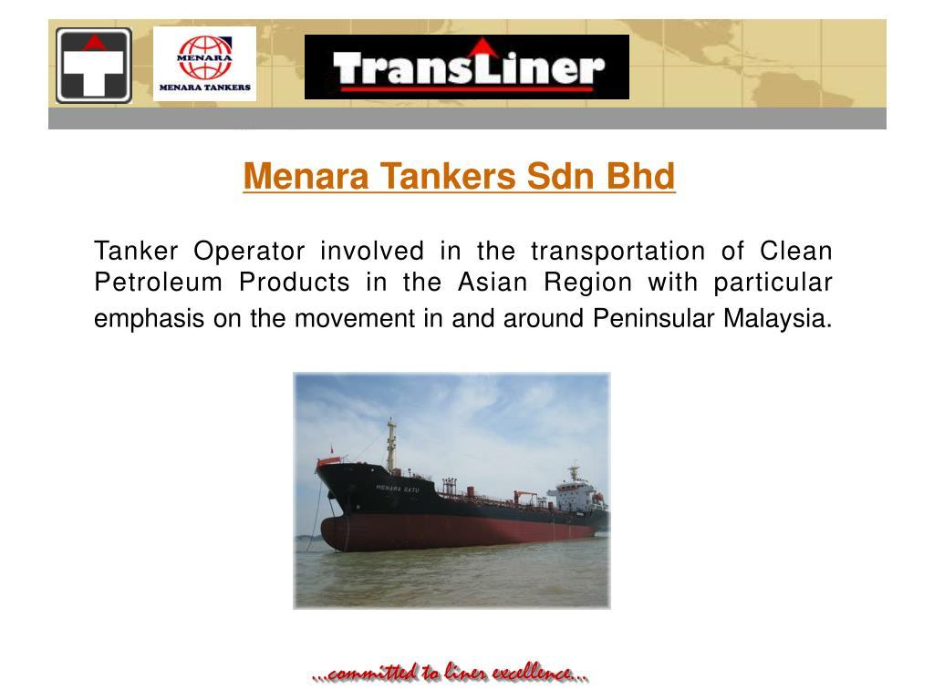 Menara Tankers Sdn Bhd