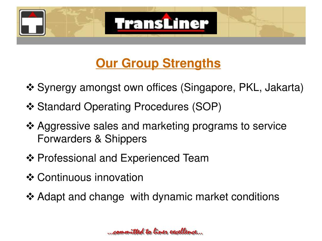 Our Group Strengths
