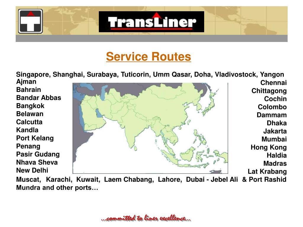Service Routes