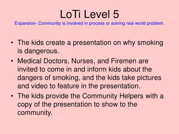 LoTi Level 5