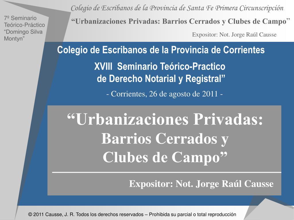 Colegio de Escribanos de la Provincia de Corrientes