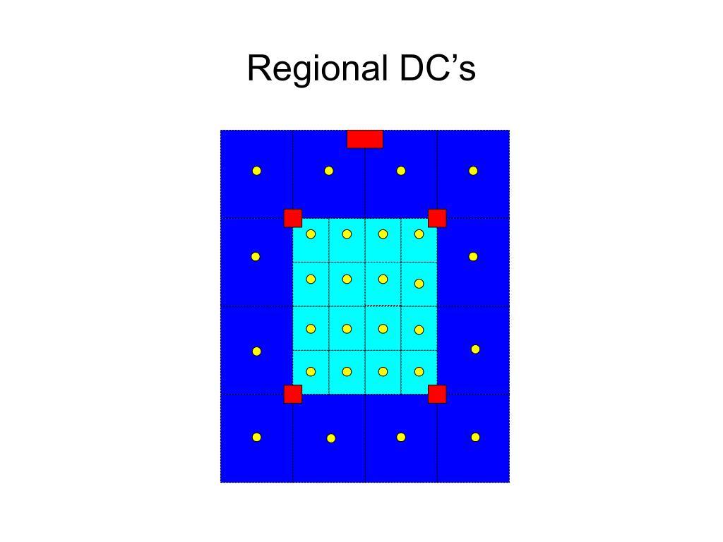 Regional DC's