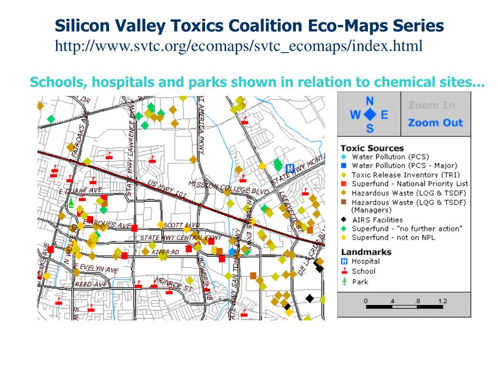 Silicon Valley Toxics Coalition Eco-Maps Series