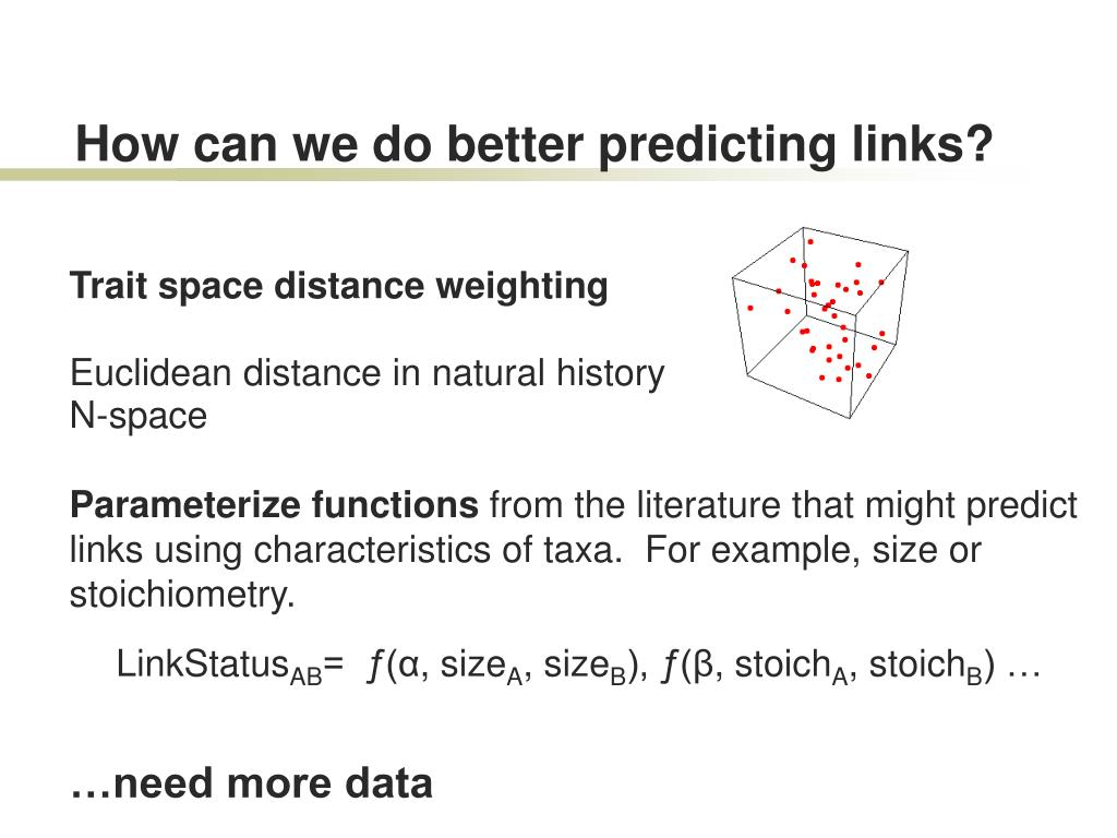 How can we do better predicting links?