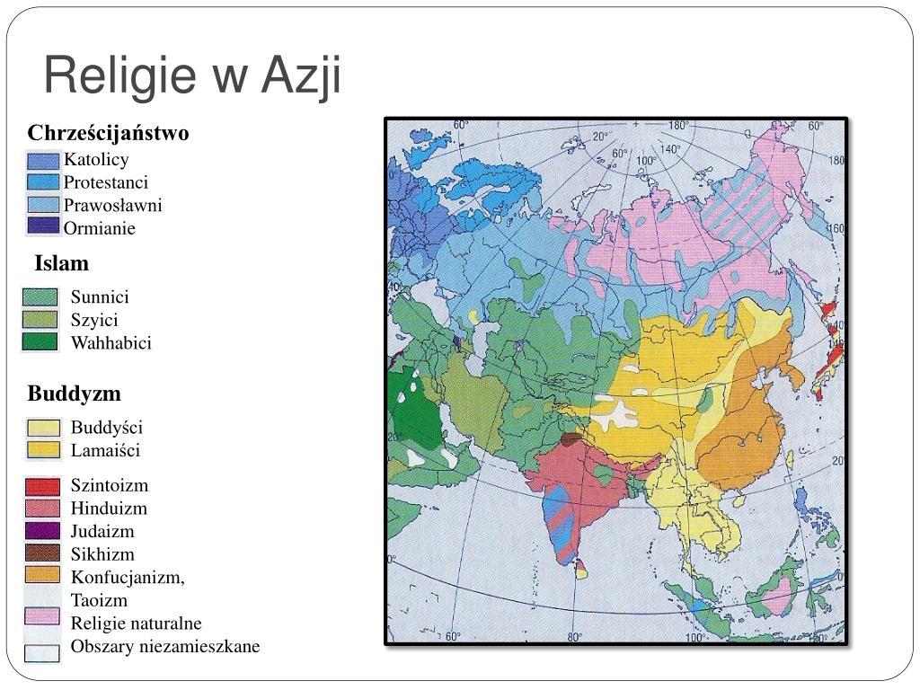 Religie w Azji