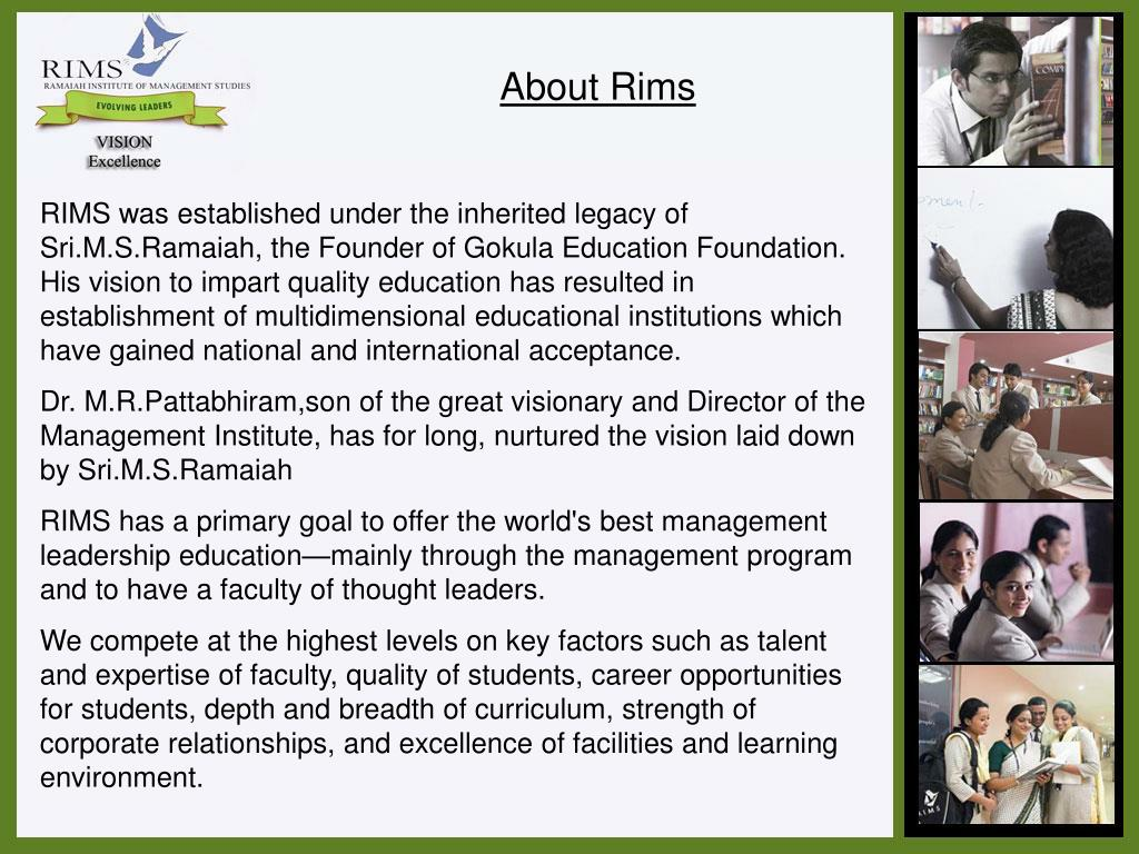 About Rims