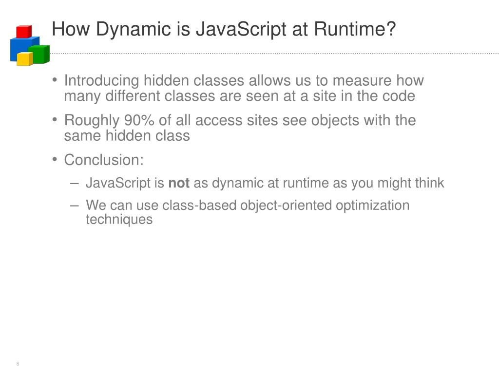 How Dynamic is JavaScript at Runtime?