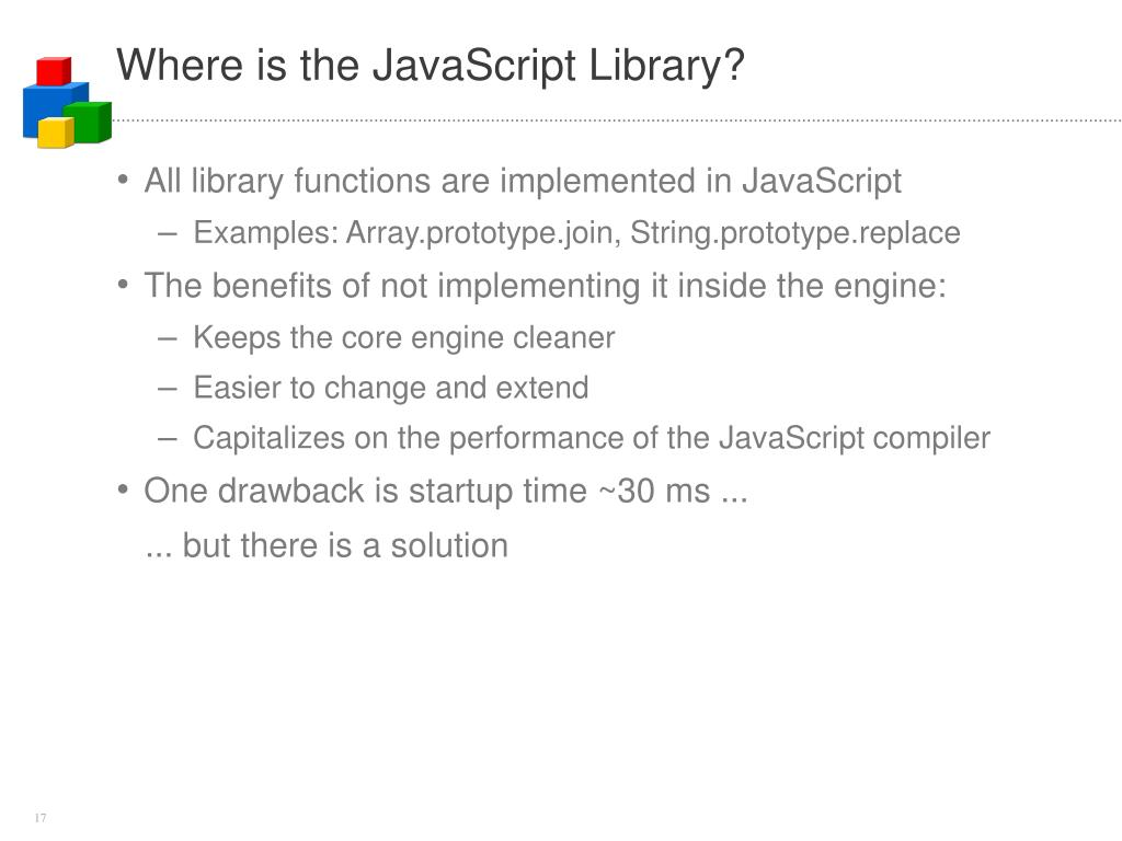 Where is the JavaScript Library?