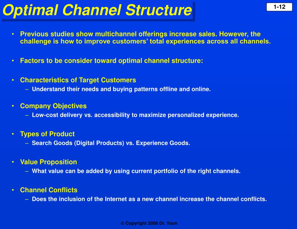 Previous studies show multichannel offerings increase sales. However, the challenge is how to improve customers' total experiences across all channels.