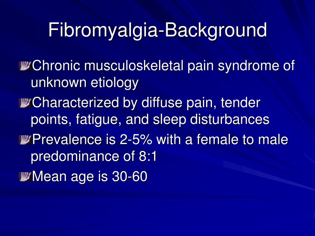 Fibromyalgia-Background