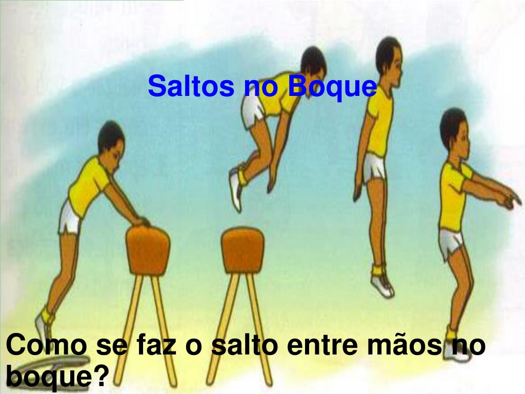 Saltos no Boque