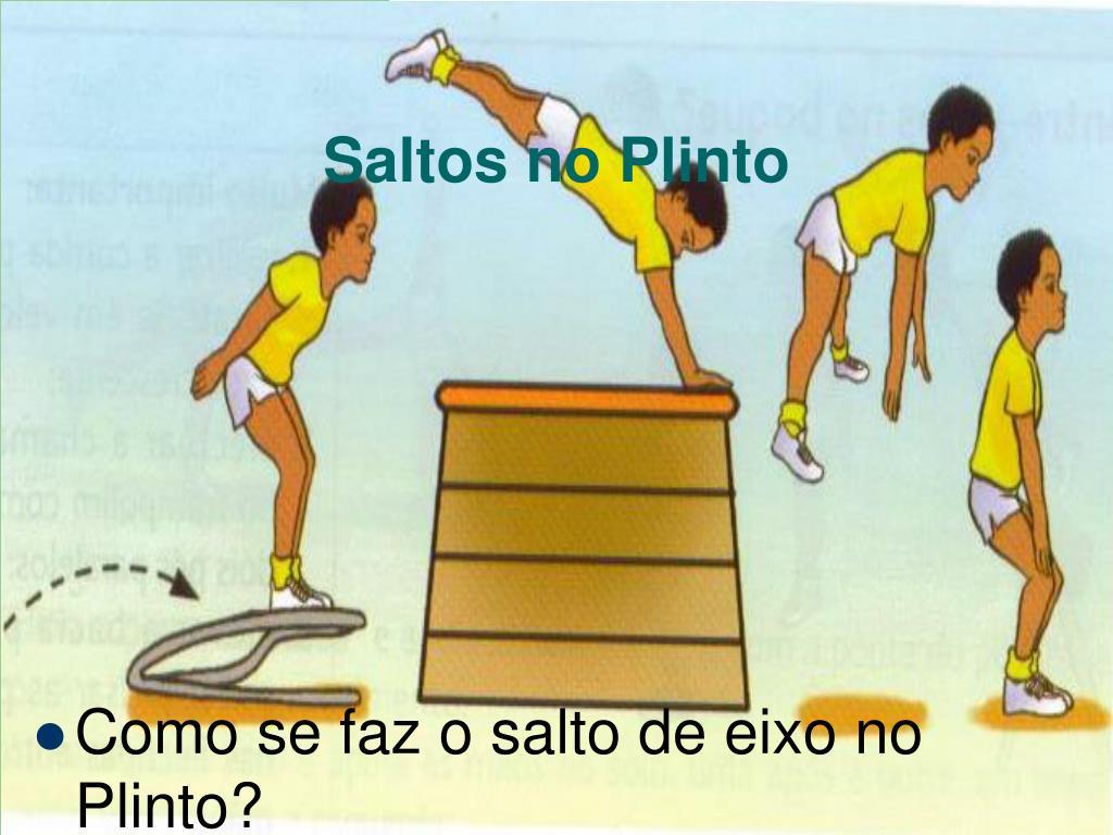 Saltos no Plinto
