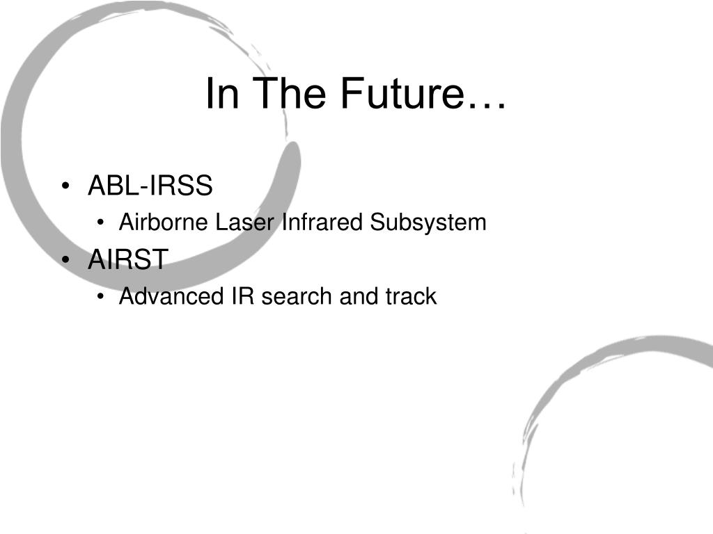 In The Future…