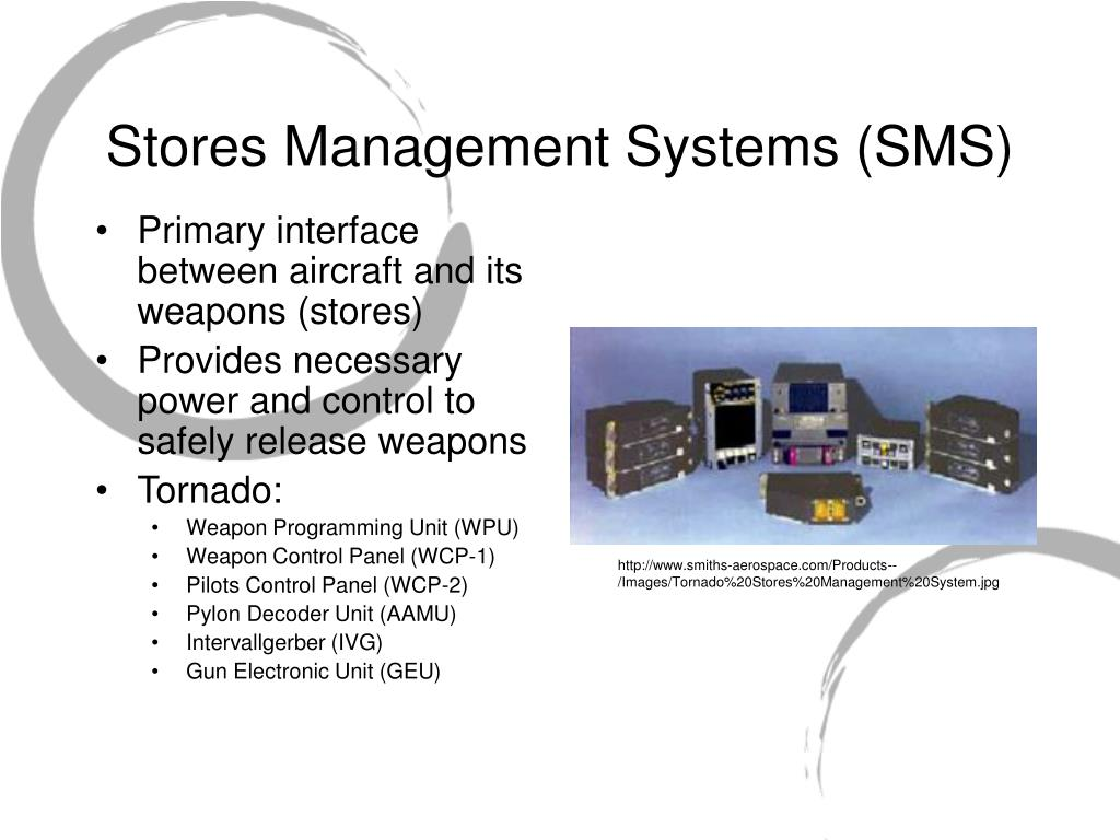 Stores Management Systems (SMS)