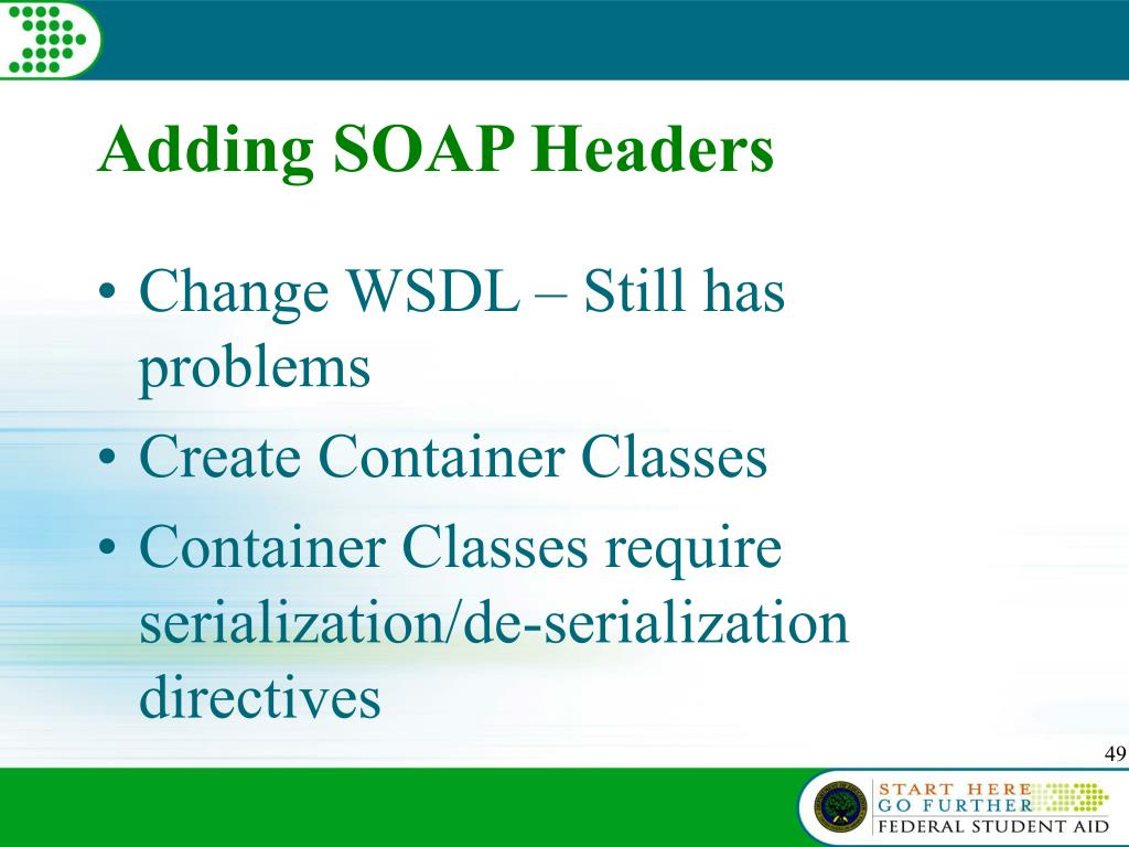 Adding SOAP Headers