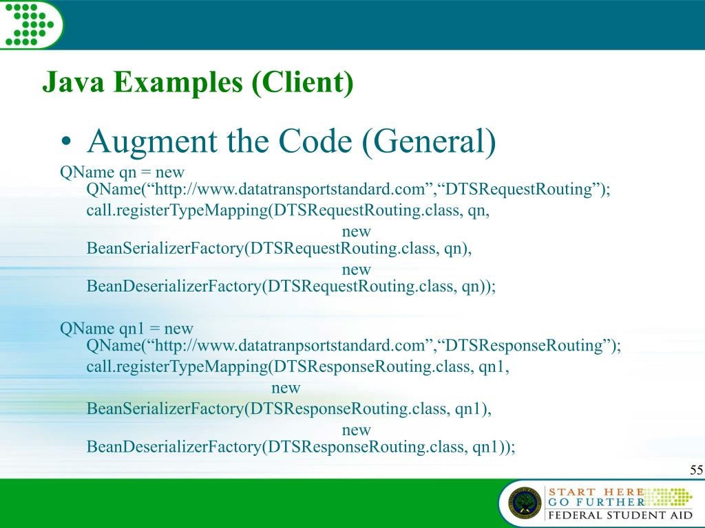 Java Examples (Client)