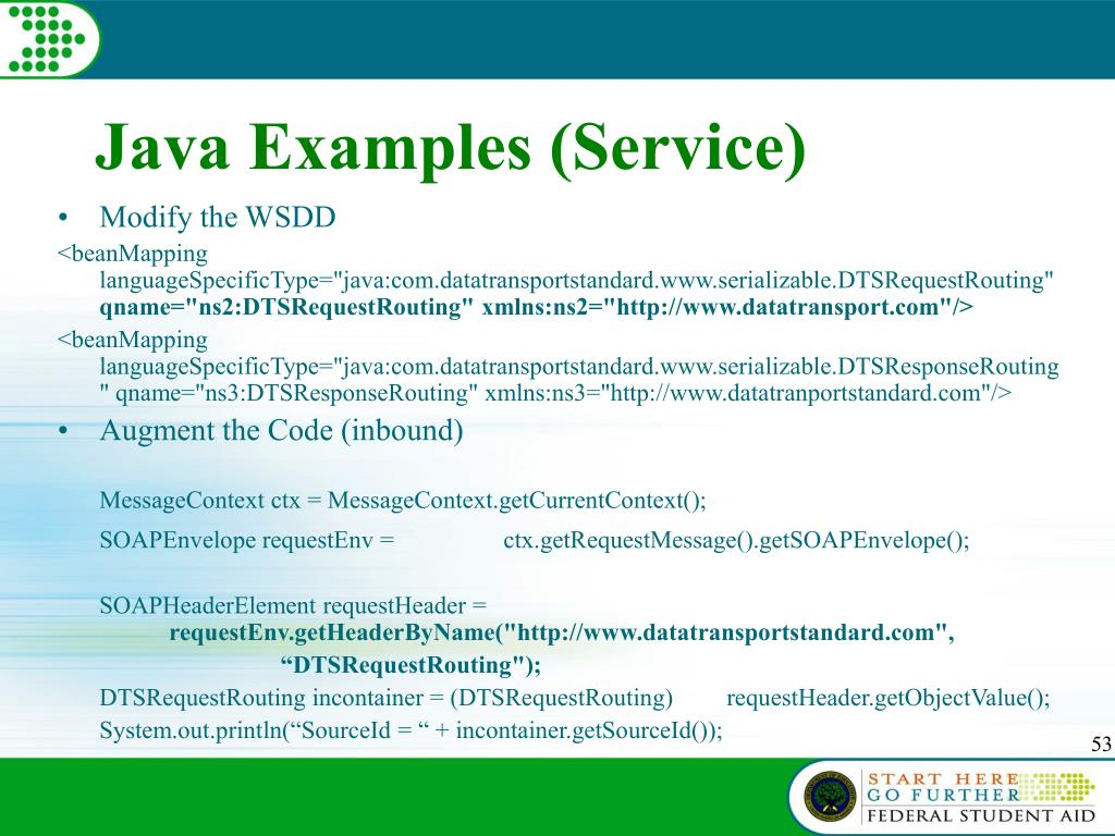 Java Examples (Service)