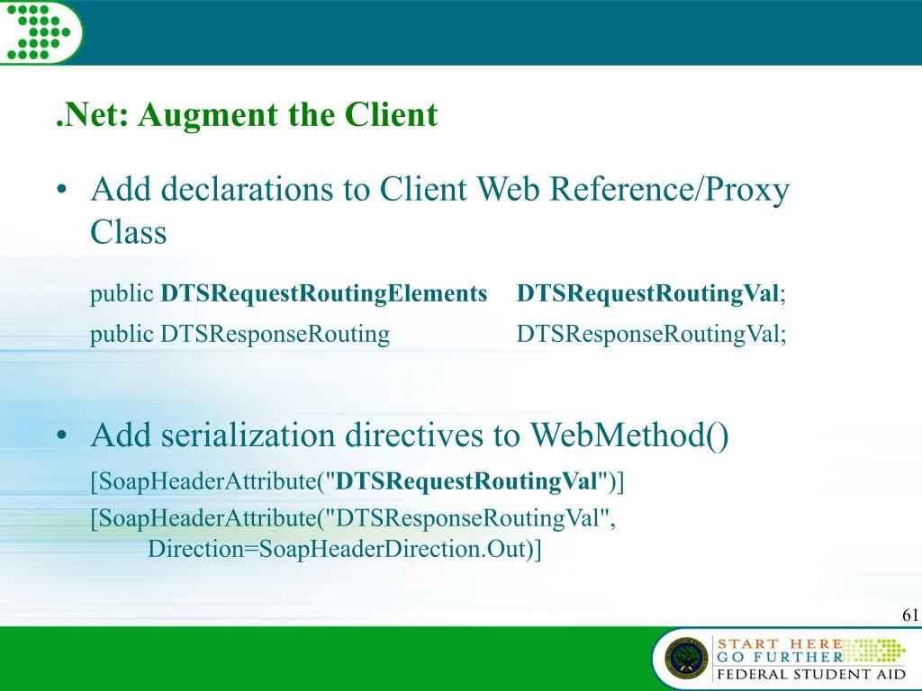 .Net: Augment the Client