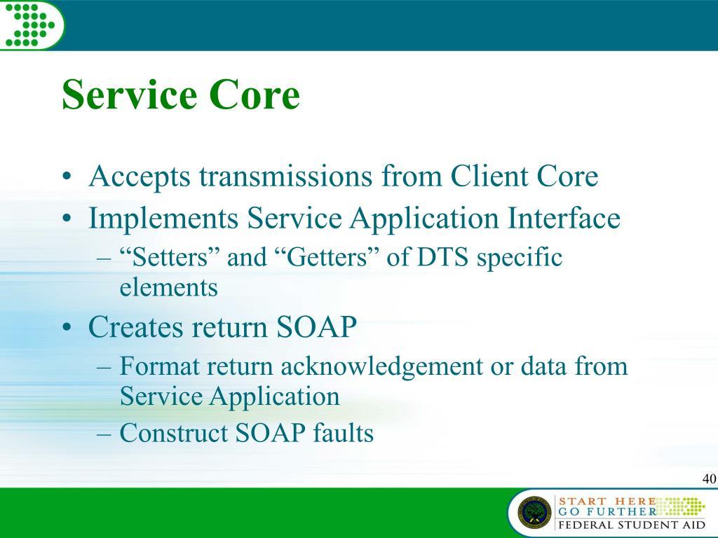 Service Core