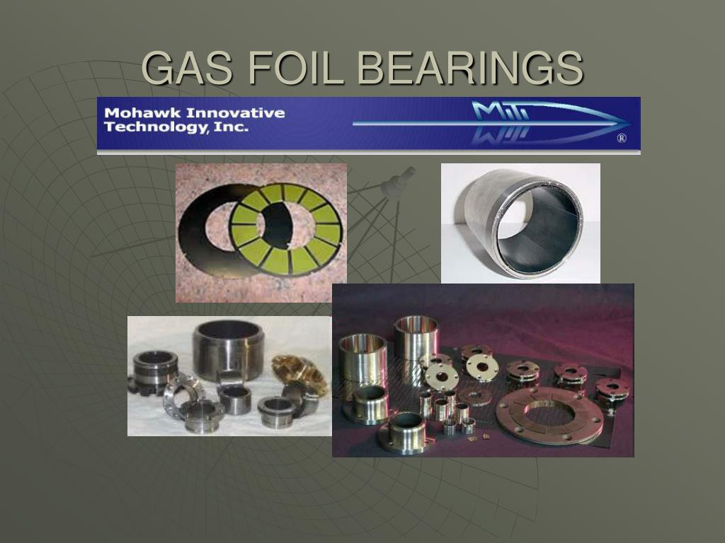GAS FOIL BEARINGS