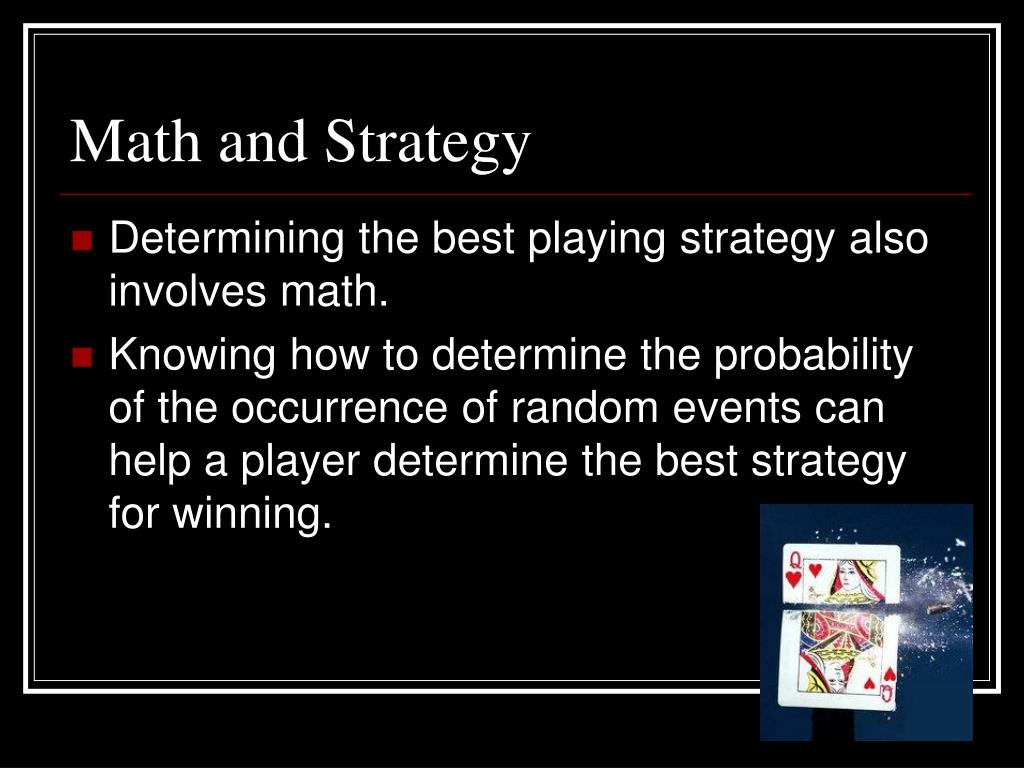 Math and Strategy